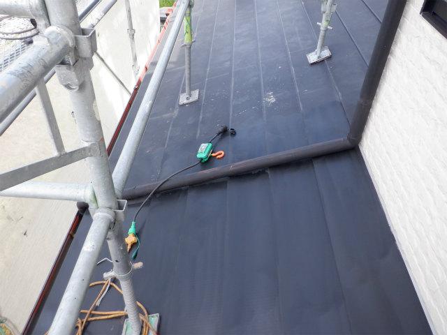 ケレン 目荒らし トタン屋根塗装