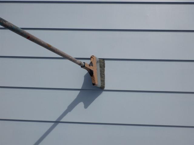 清掃 トタン屋根塗装