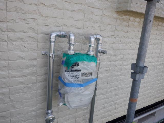 ガス管 シルバー