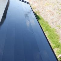 上塗り2回目 トタン屋根