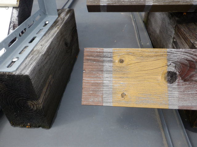 木材保護塗料 5年 屋外暴露試験