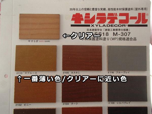 木材保護塗料 Wp