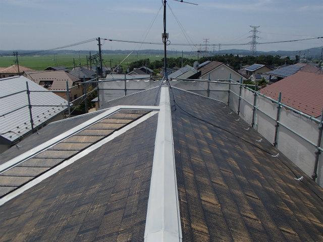 下塗り塗装 宮城県石巻市 カラーベスト 屋根塗装