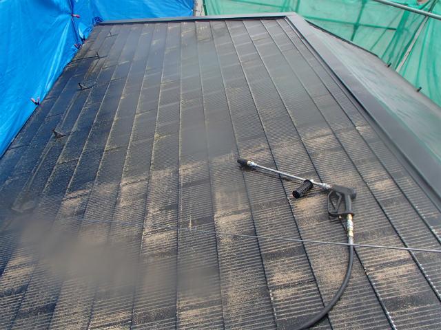 高圧洗浄 カラーベスト 宮城県石巻市 屋根塗装