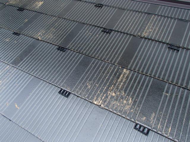タスペーサー 宮城県石巻市 カラーベスト コロニアル 屋根塗装