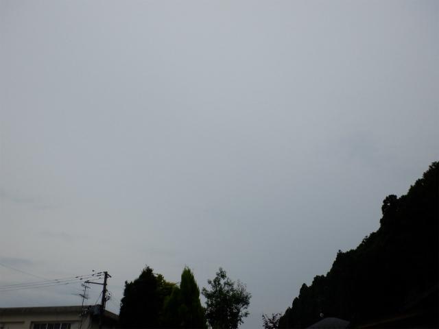 天気が微妙・・・