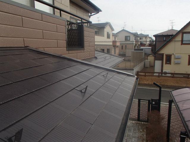 雪止め 3年半 屋根塗装 宮城県石巻市 仙台市