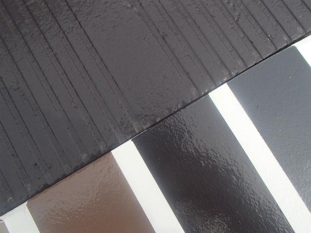 3年半 屋根塗装 宮城県石巻市 カラーベスト