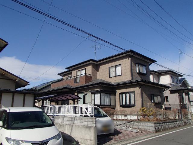 宮城県 石巻市 外壁塗装 屋根塗装 施工前