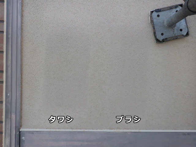 手洗い 外壁 リシン