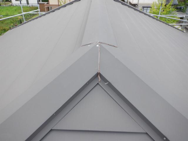 トタン屋根 5寸
