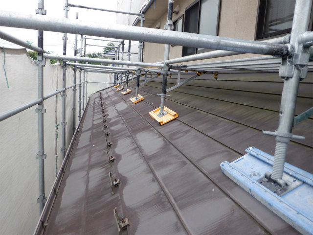 トタン屋根 藻 カビ