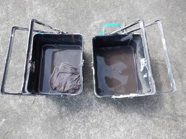 清掃 トタン屋根
