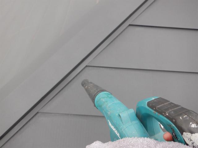 トタン屋根 雨水
