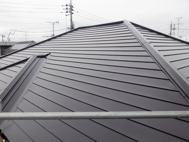 南面完了 トタン屋根塗装
