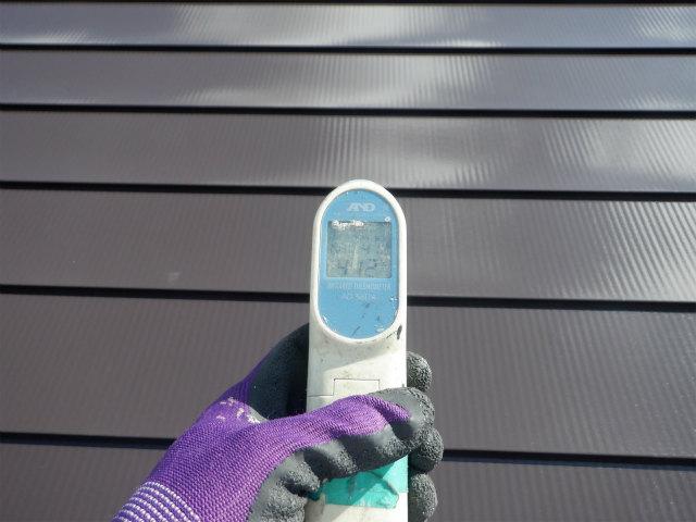 トタン屋根 表面温度