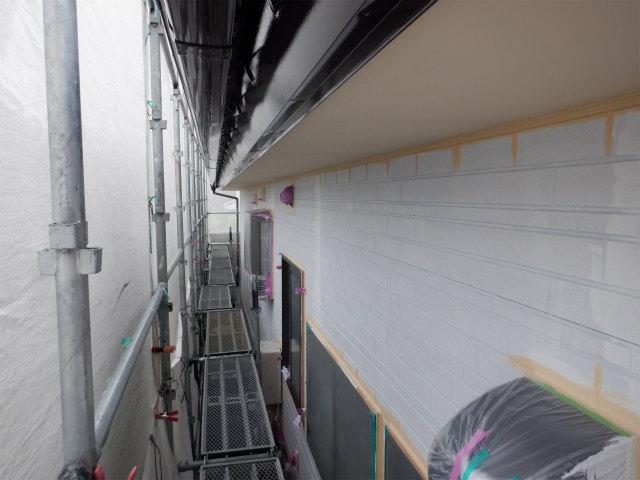 北面 ダメ込み 外壁塗装