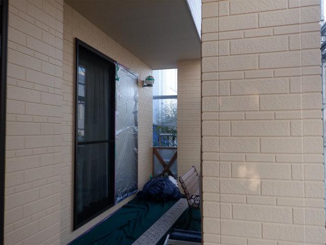 南面 外壁塗装 仕上げ