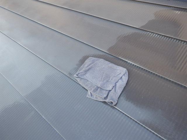 トタン屋根塗装 清掃