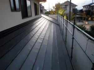 トタン屋根 錆止め塗装 ハゼ