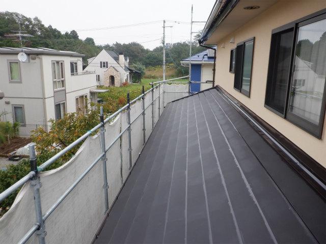 トタン屋根塗装 夜露