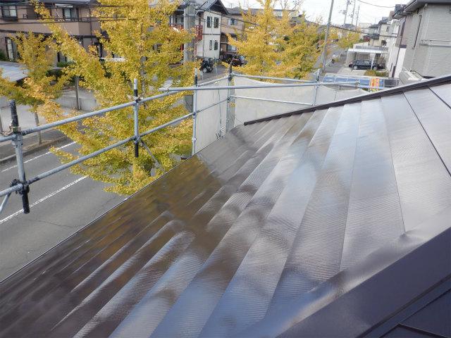 西面 完了 トタン屋根塗装