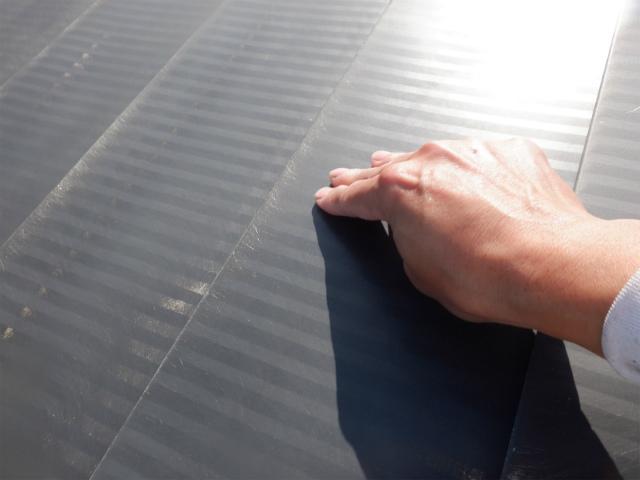 トタン屋根塗装 清掃後