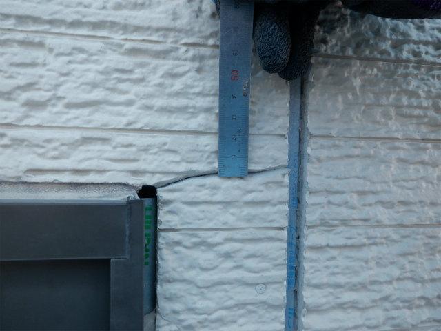 ひび割れ 窯業系サイディングボード