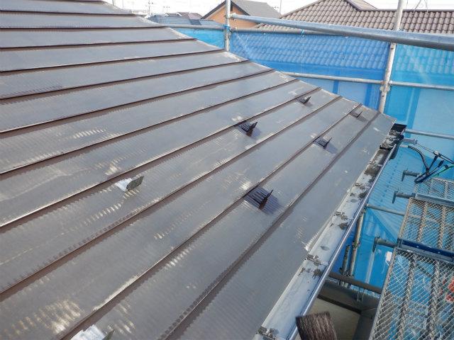 雪止め 錆止め トタン屋根塗装