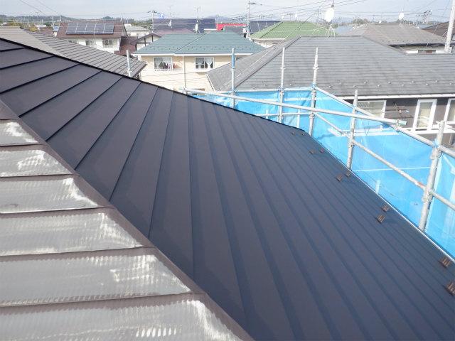 東面 錆止め トタン屋根塗装