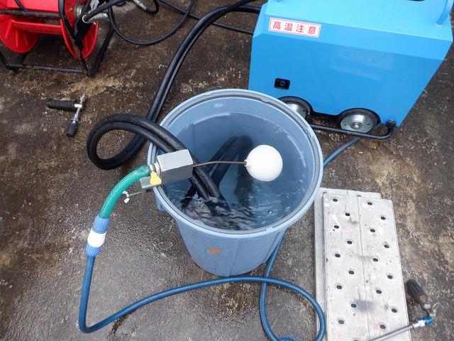 フロート弁 高圧洗浄 外壁塗装