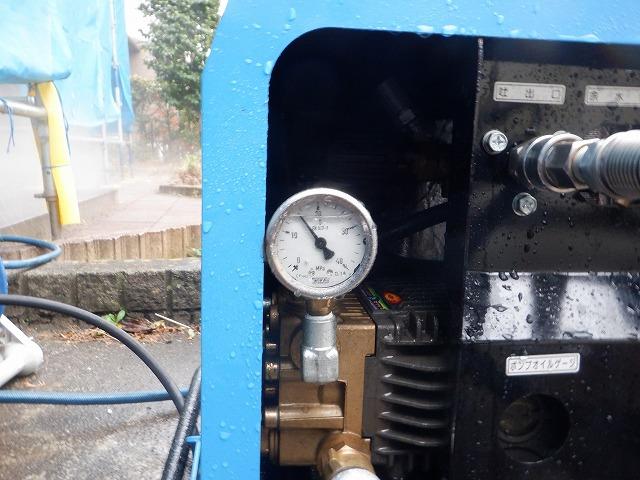 高圧洗浄 圧力