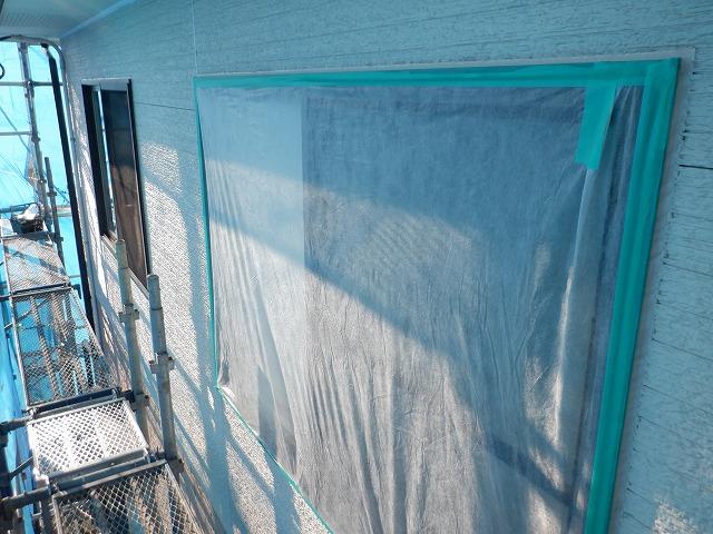不織布 養生 外壁塗装