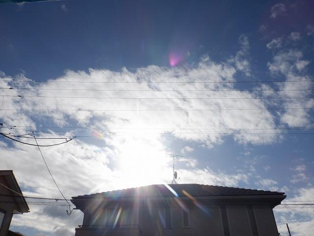 天気いい!