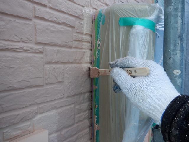 北面 外壁塗装 ダメ込み