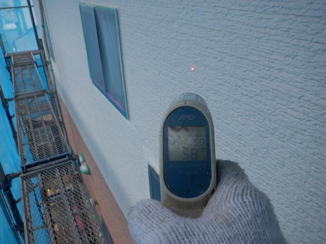 外壁 表面温度 北面 朝一 5.8℃