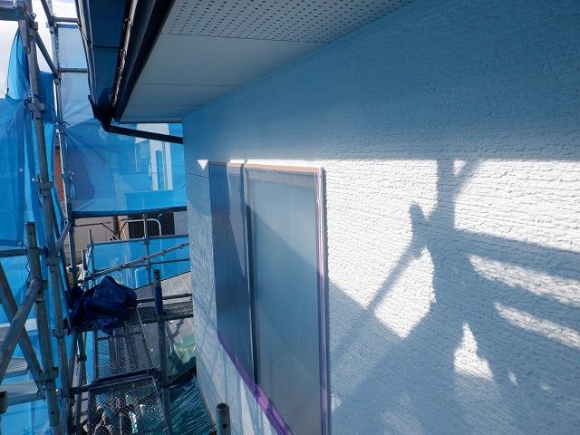 上塗り1回目 外壁塗装 ビーズコート