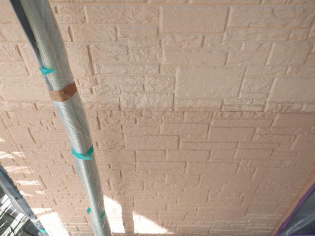 上塗り1回目と2回目の差 外壁塗装 宮城県 石巻市 東松島市 仙台市