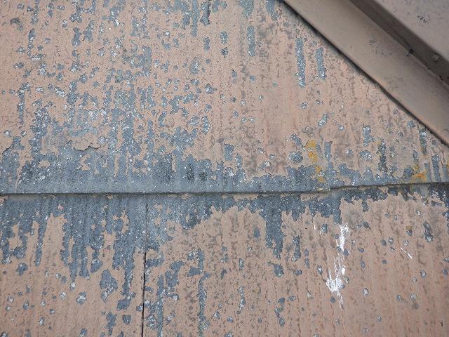 屋根 塗膜 剥がれ