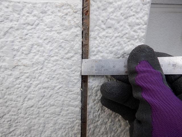 サネ 目地幅 外壁塗装 宮城県 石巻市 仙台市