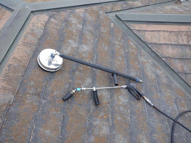 オールクリーナー トルネード 屋根 水洗い