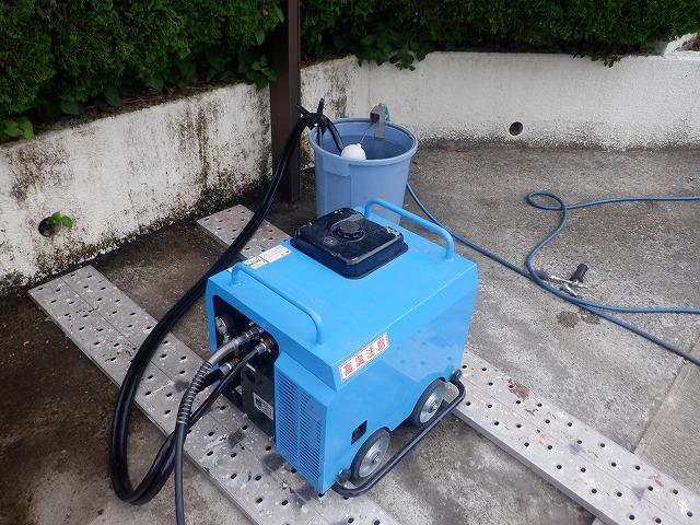 簡易防音高圧洗浄機