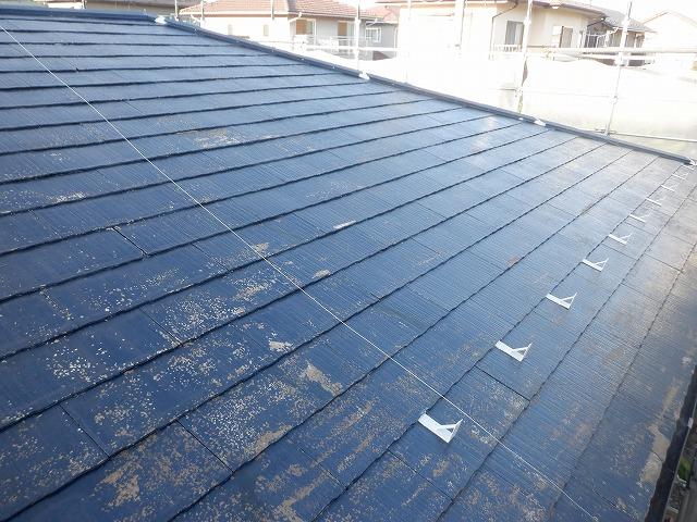 屋根塗装 下塗1回目