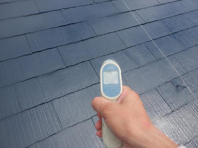 屋根塗装 表面温度