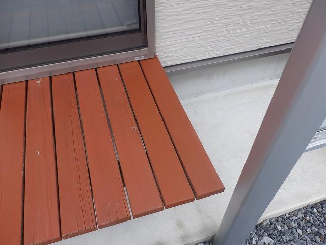 濡れ縁 木材保護塗料