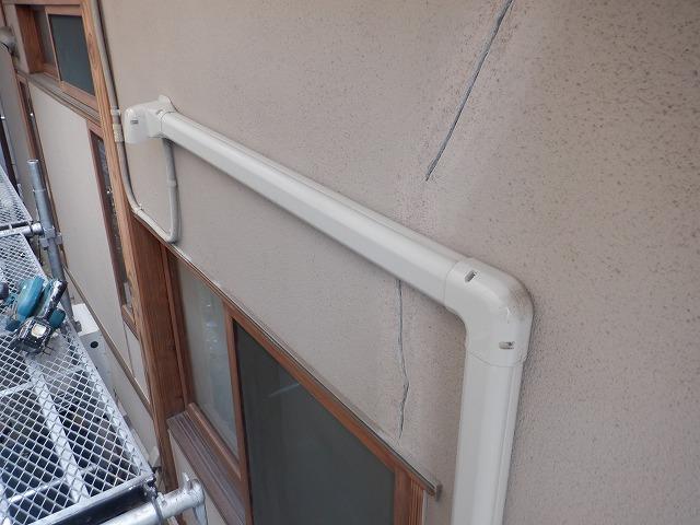エアコン ひび割れ 外壁 クラック 宮城県