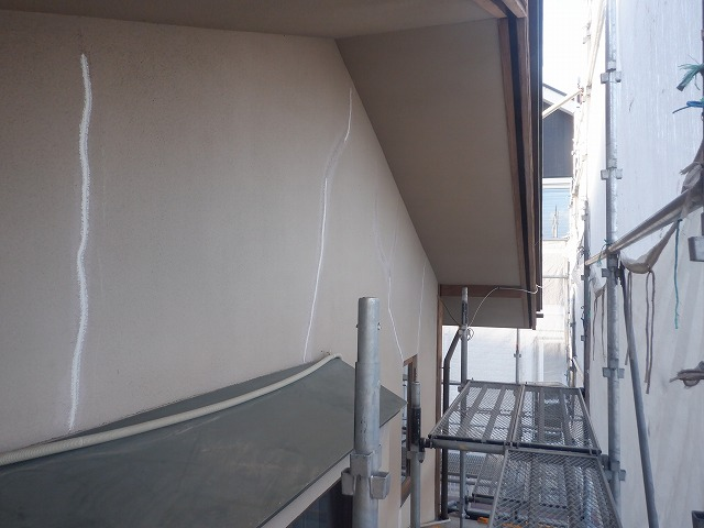 2階 補修後 外壁